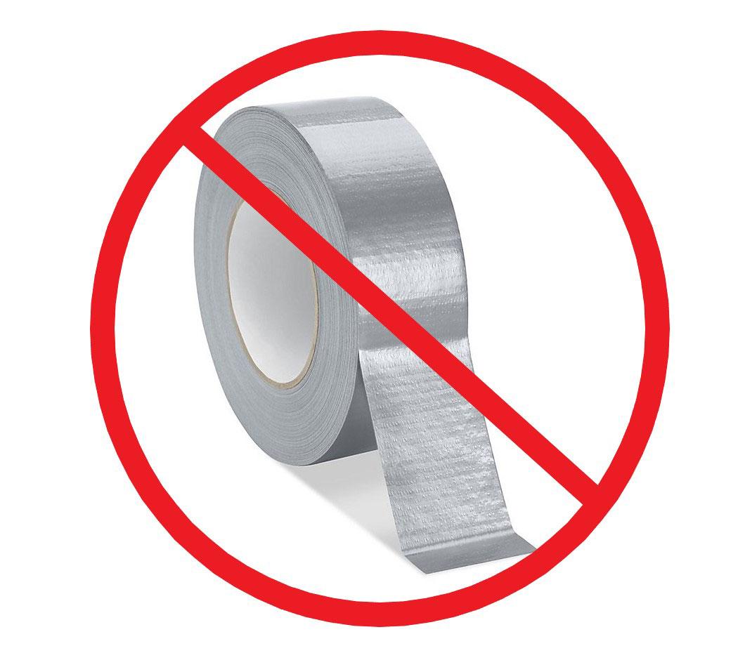 No Tape