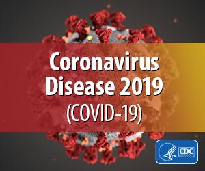 Coronavirus Disease 2019 CDC Badge