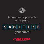sanitization - hand hygiene approach poster