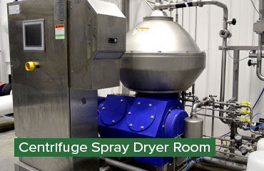 Centrifuge Spray Dryer Room