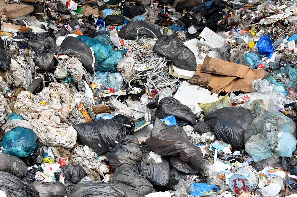 Grabage pile